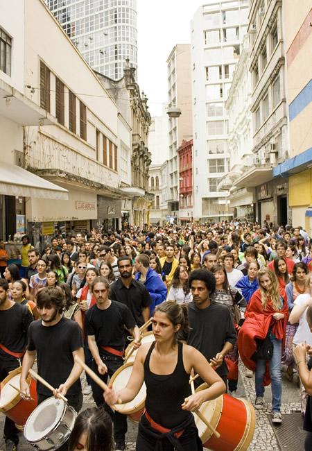 Sao Paulo students