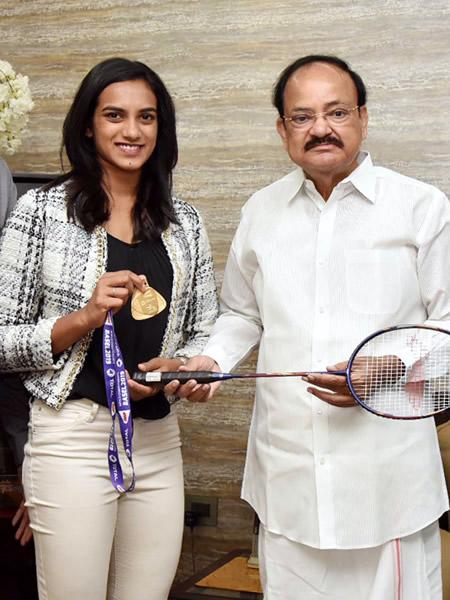 Sindhu, Naidu, Badminton