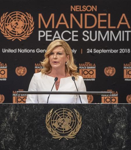 United Nations, Nelson Mandela