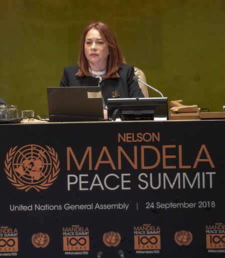 United Nations, Nelson Mandela