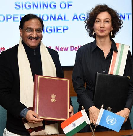 Unesco, India