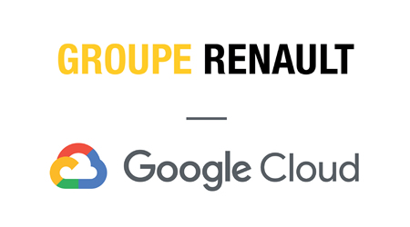 Group Renault, Google