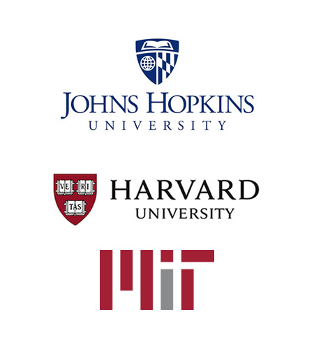 Johns Hopkins, Harvard, MIT