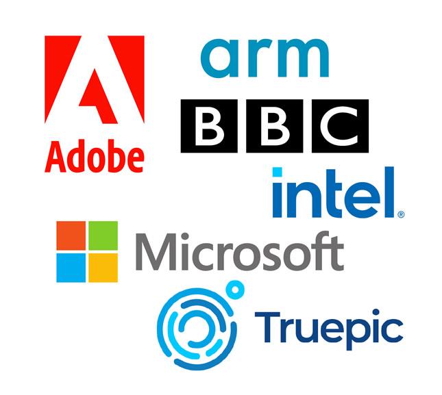 Microsoft, Adobe, BBC