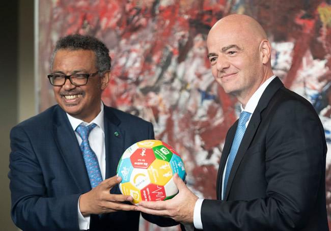 FIFA, WHO