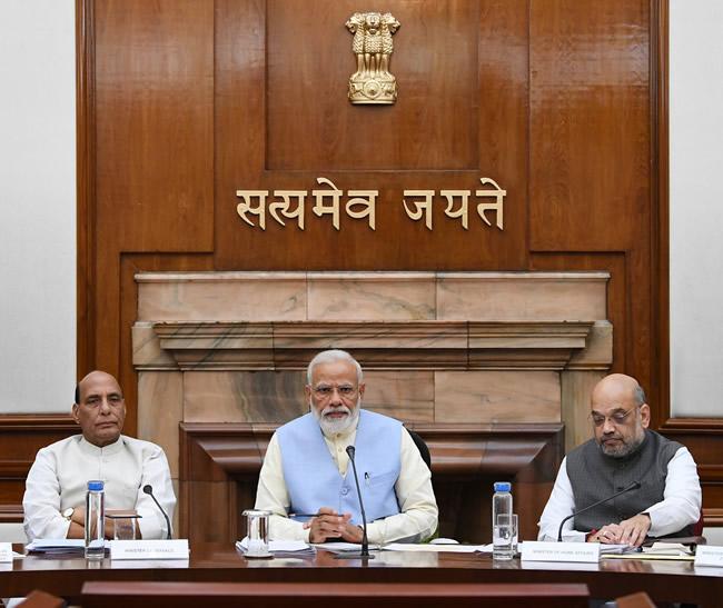 Modi Cabinet Meeting