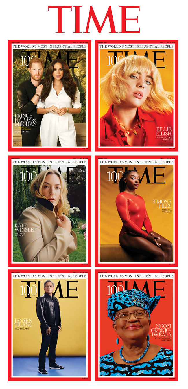 TIME — Most Influential People 2021