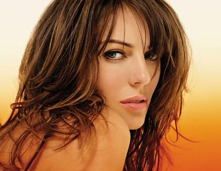 Celebrity hairstyles Elizabeth Hurley 2