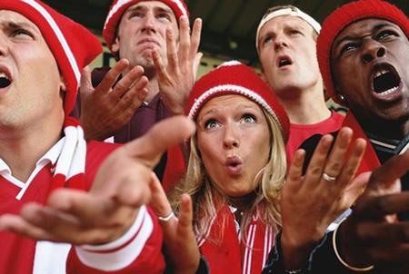 Olympics Soccer Spectators