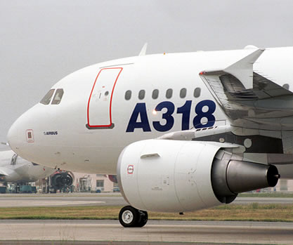 A318 Airbus commercial airplane
