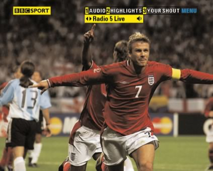 BBC Sports World Cup 2006 Football
