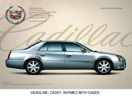 Cadillac DTS Car