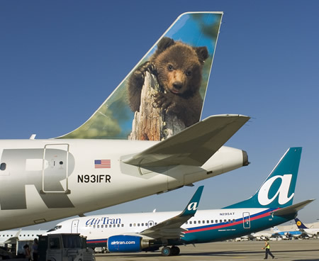 AirTran Airways, Frontier Airlines