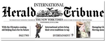 IHT International Herald Tribune