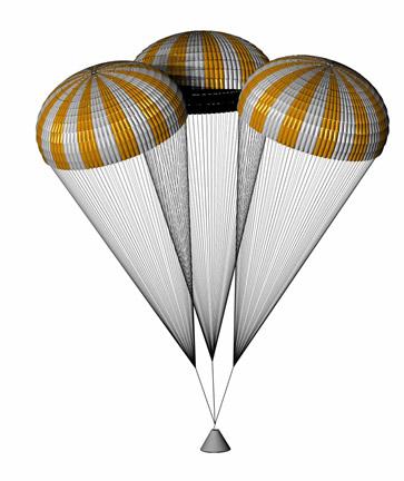 IRVIN AEROSPACE NASA