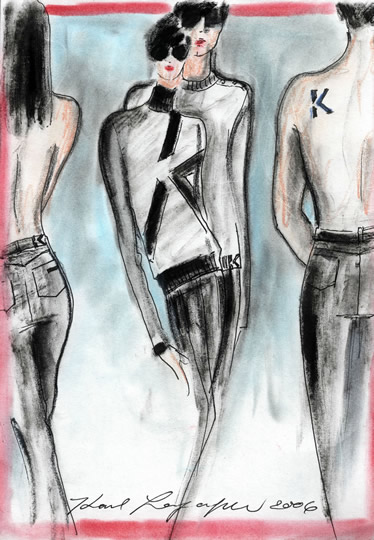 karl lagerfeld designs. PHOTO: KARL LAGERFELD launches