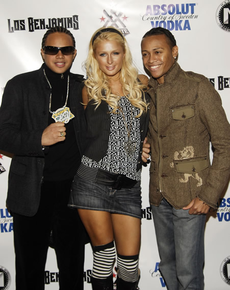 Lary Tune, Paris Hilton, Janet Jackson