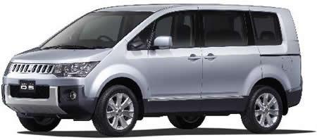 Mitsubishi Minivan Delica D:5