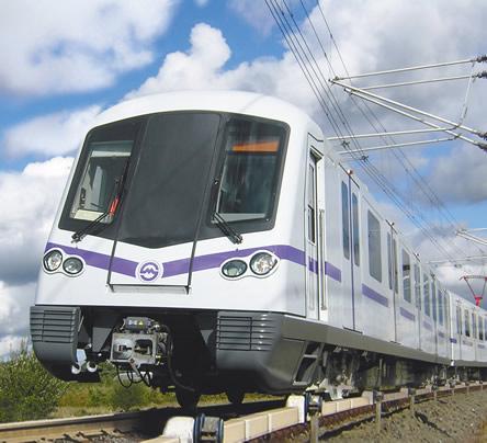 Siemens Shanghai Motor Control Train