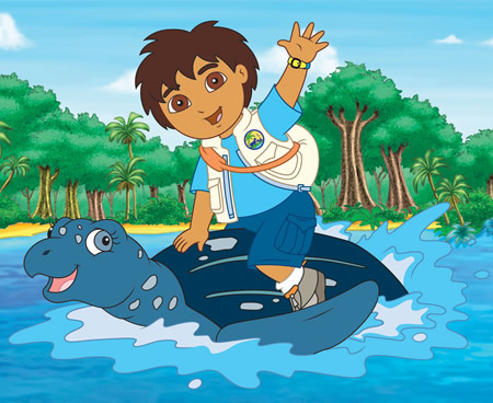 Go Diego Go Cartoon