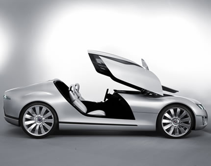 SAAB Concept Car General Motors