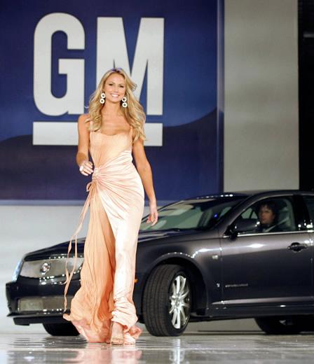 GM, General Motors Stacy Keibler
