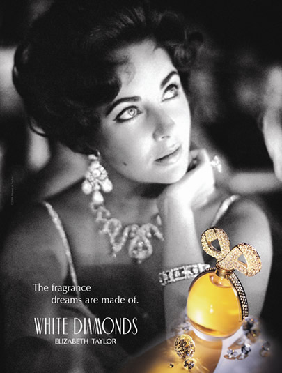 ELIZABETH TAYLOR WHITE DIAMOND