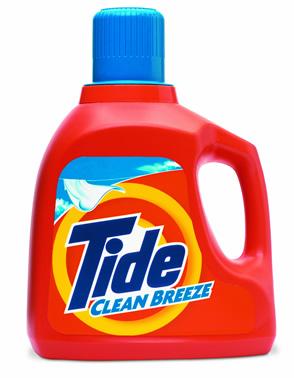 Tide Liquid Detergent P&G
