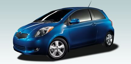 Toyota Yaris Motor Car