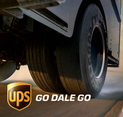 UPS package delivery